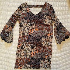 Fall colored dress